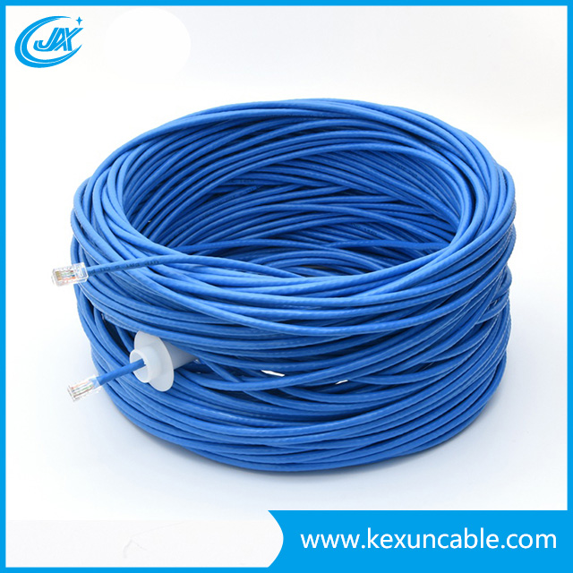 Factory CAT6 Cat5e UTP FTP Network Cable LAN Cable 4*2*23AWG Bc CAT6 305m/Box