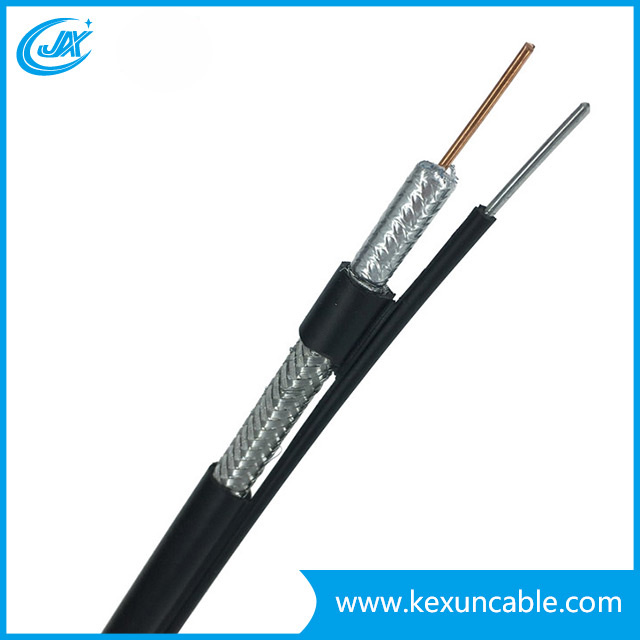 Factory Direct Coaxial Cable Rg11 Fortrunk Line 100m/PE 305m/Wood Drum Pack